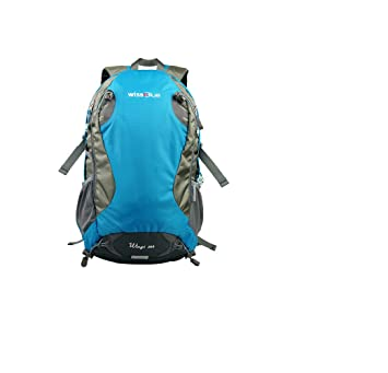 5b7fec486b wissBlue Hiking Backpack Camping Backpack for Outdoor Sports  Amazon.co.uk   Sports   Outdoors