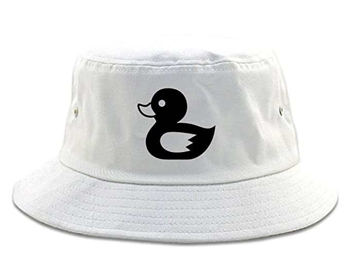 a3f41012eda71 Rubber Duck Chest Bucket Hat Black at Amazon Men s Clothing store