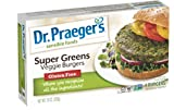 DR PRAEGER Burger Veggie Super Green Patties, 10 Ounce (Pack of 12)