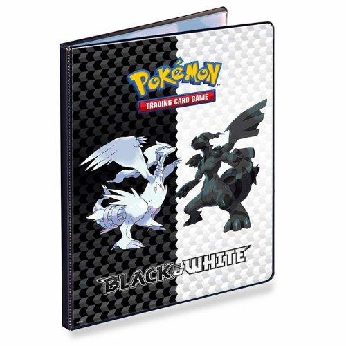 Pokemon Black White Card Supplies 9Pocket Binder Reshiram Zekrom by Ultra Pro