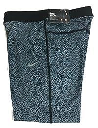 Nike Women's Relay Dri-FIT Foldover Capri Running Tights