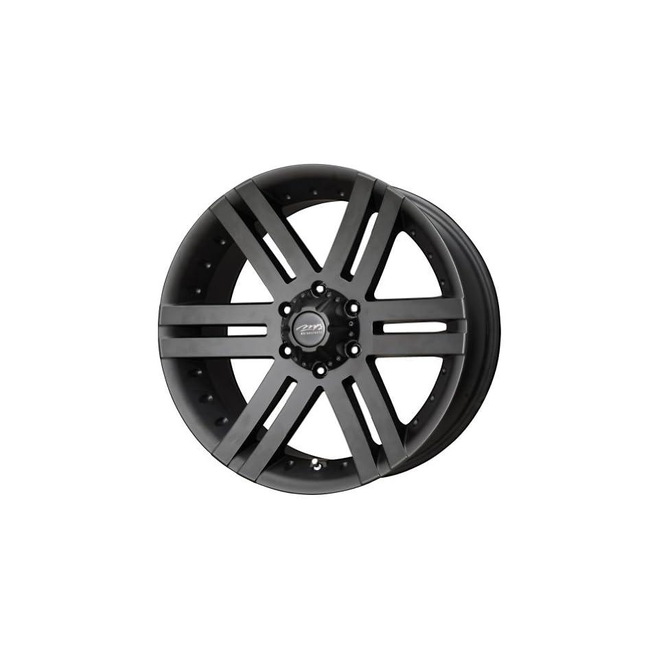 "MB Wheels Vortex Matte Black Wheel with Painted Finish (18x8.5""/6x139.7mm) Automotive"