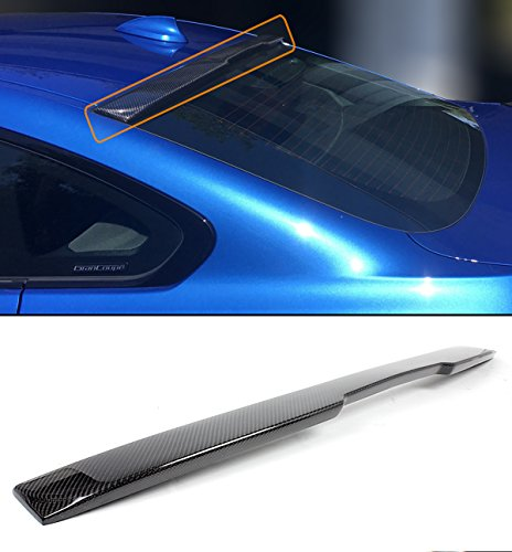 FOR 2014-2018 BMW F36 4 SERIES 4 DOOR GRAN COUPE CARBON FIBER REAR WINDOW ROOF SPOILER