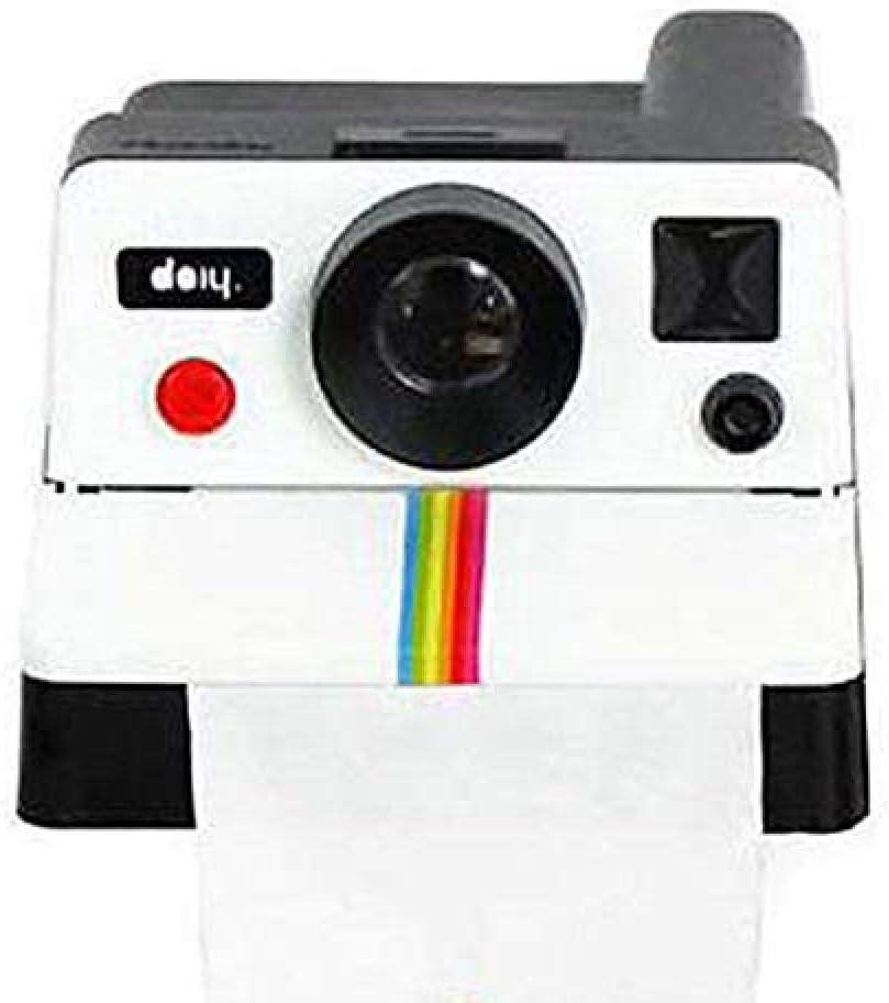 Haute Qualit/é Cr/éative R/étro Polaroid Forme De La Cam/éra Inspir/é Bo/îtes De Mouchoirs//Porte-Rouleaux Papier Holder Box Accessoires De Salle De Bains