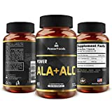 Product review for Pure Alpha Lipoic Acid + Acetyl L Carnitine (ALCAR) ★ Power ALA ALC x60 capsules (easy to swallow) ★ Antioxidant ★ Supports Immune System + Healthy Liver Function ★ Weight Loss + Energy