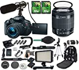 world trade center wide screen - Canon EOS Rebel T5i DSLR Camera Bundle with Canon EF-S 18-55mm f/3.5-5.6 IS STM Lens + 2pc 32 GB SD Cards + Microphone + LED Light