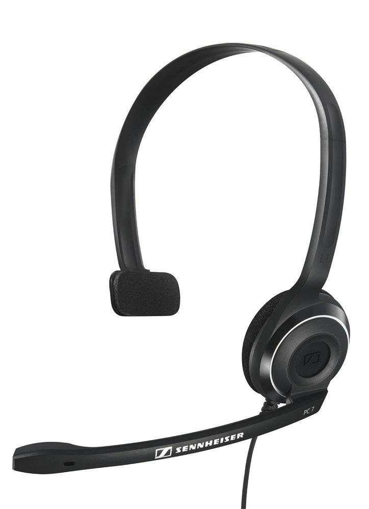Sennheiser PC 7 USB - Micro-auriculares supraurales de tipo diadema mono con conexió n USB Sennheiser PC 7 USB - Micro-auriculares supraurales de tipo diadema mono con conexión USB 504196