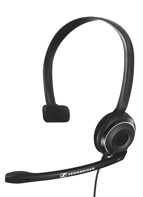 17 opinioni per Sennheiser PC7 Cuffia monoaurale microfonica PC USB