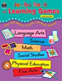 Jumbo Book of Learning Games, Patti Sima, 1576903214