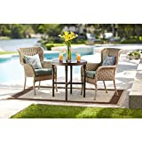 Lemon Grove Round Wicker Outdoor Bistro Table