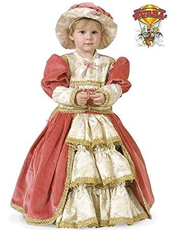 super speciali vende vendita scontata COSTUME DI CARNEVALE DAMA DELL'800 5 ANNI TG.III B370-III: Amazon ...