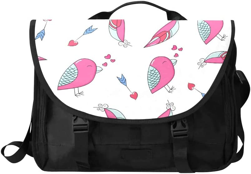 Laptop Bags for Women Bright Colored Feathers and Beads Multi-Functional Fashion Crossbody Bag Fit for 15 Inch Computer Notebook MacBook