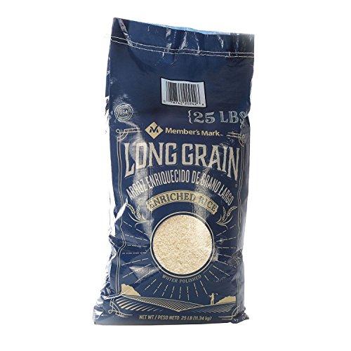 Member's Mark Long Grain White Rice (25 lb.) (pack of 6) by Member's Mark
