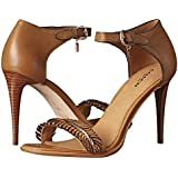 Coach A00014 Isabella Feather Ginger Leather High Heels