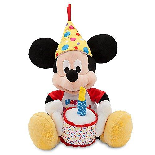 Birthday Cake Plush (Disney Mickey Mouse Happy Birthday Musical Plush - Medium - 13 Inch)