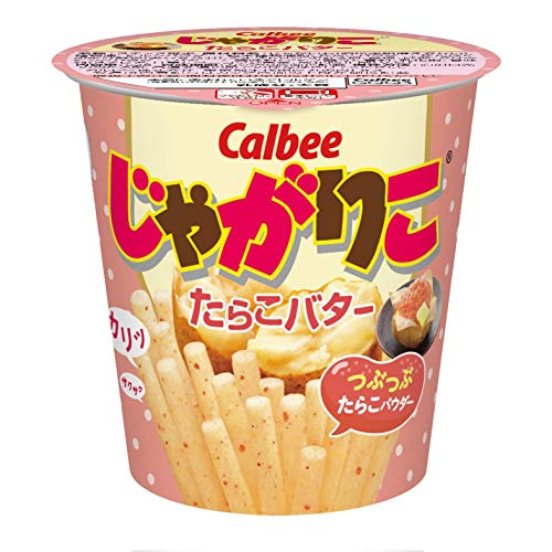 Calbee 가루비 쟈가리코 명란 버터맛  52g×12개