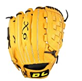 DL Emperor Dragon Full Cow Leather Baseball Glove for Left Hand Use 12.5