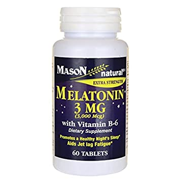 Image Unavailable. Image not available for. Color: Extra Strength Melatonin 3 Milligrams ...