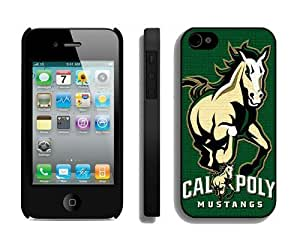 Cheap Phone Mate Protector Personalized Cases for Iphone 4s Designer Iphone 4 Cover Cell Phone Accessories Cal Poly Mustangs 5