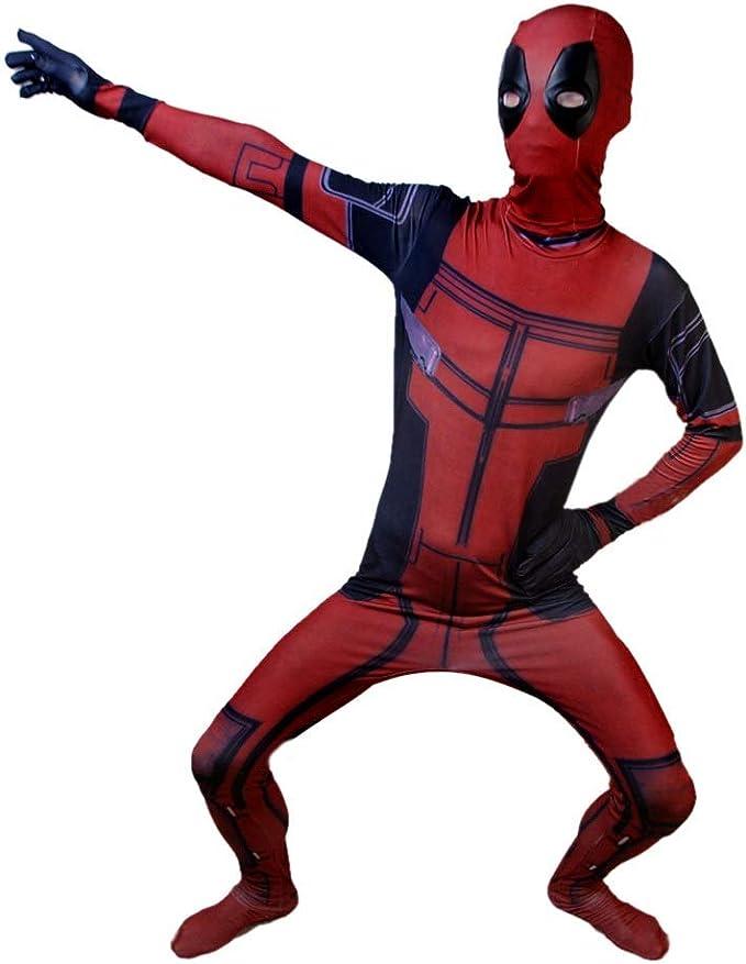 SPIDERMANHTT Cosplay disfraz elástico siamés muerte servicio ...