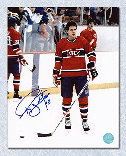 cheap for discount 23580 2da25 RIC NATTRESS Montreal Canadiens SIGNED 8x10 Photo ...