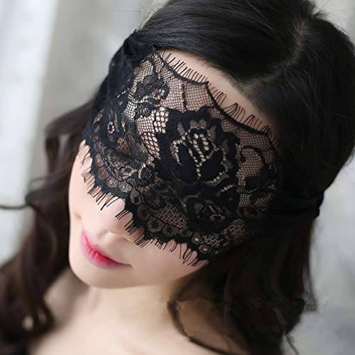 UltraZhyyne - Porn Babydoll Sexy Lingerie Hot Black/White Lace Mask Erotic Lingerie for Women Halloween Cosplay Sexy Costumes Accessories [ Black ] - Halloween Costumes Porn