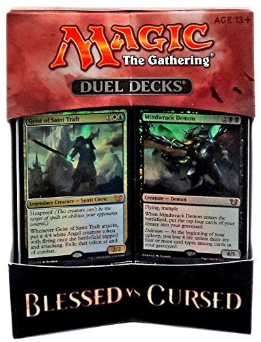 MTG Magic the Gathering - Duel Decks: Blessed vs Cursed Wizards of the Coast B65160000
