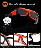 Mincl Basketball Sports Glasses Football Perfect