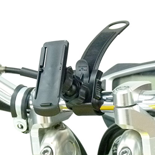 Locking Strap Motorbike Mount and Cradle for Garmin Oregon 200 GPS (SKU 30185)