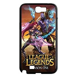 SamSung Galaxy Note2 7100 phone cases Black League Of Legends cell phone cases Beautiful gifts NYU45761412