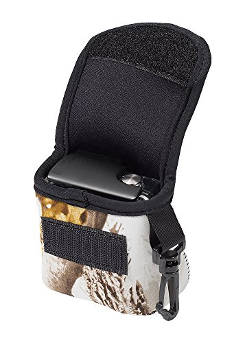 LensCoat BodyBag GoPro Camouflage Neoprene Protection Camera Bag case (Realtree AP Snow) lenscoat