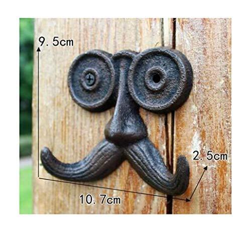 1pcs European Iron Vintage Wall Hook Door Clothes Coat Hangers Towel Holder Organizer Home Decor,I ()