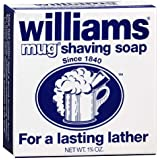 Williams Mug Shaving Soap - Buy Packs and Save (Pack of 6)