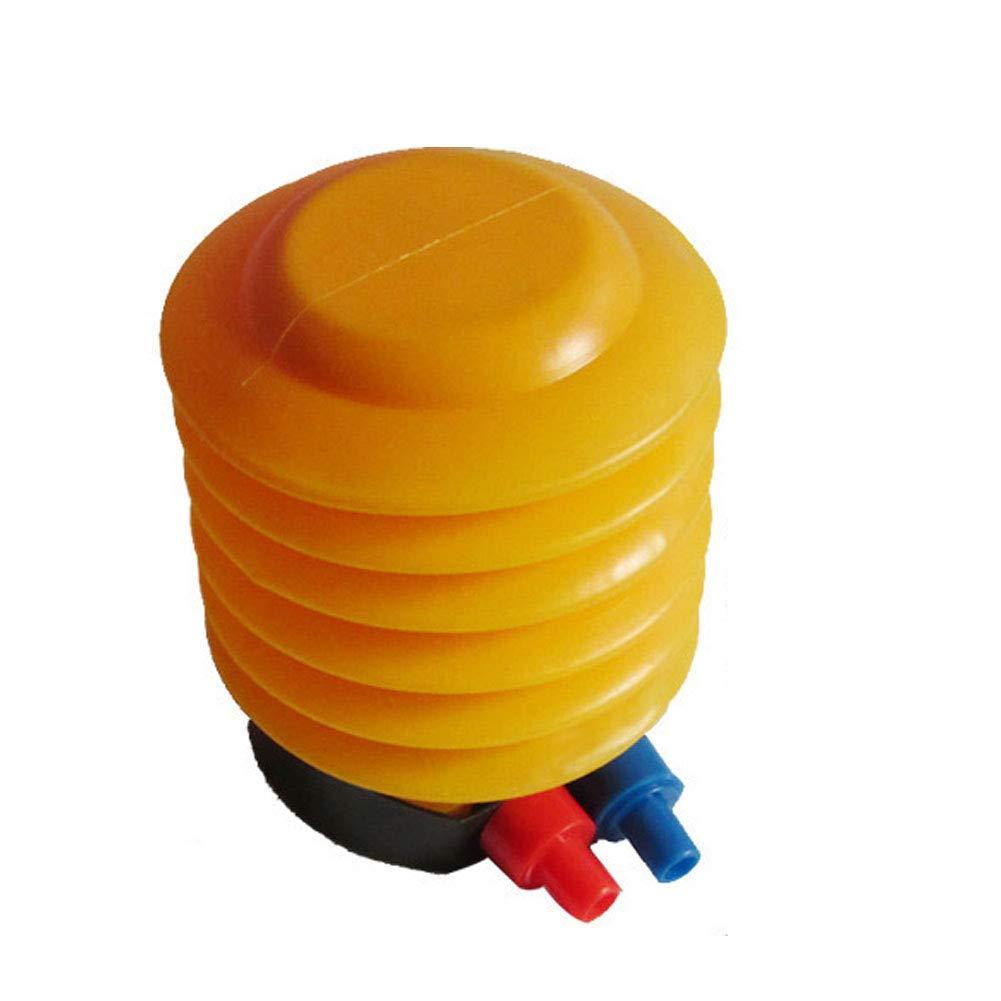 Pompe à Ballon de Yoga Ball Pompe à air à Pied Gonflable pour Bateau Jaune NaiCasy