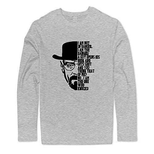 [Seico Mens Breaking Bad Tshirts Ash Size L] (Breaking Bad Jesse Costumes)