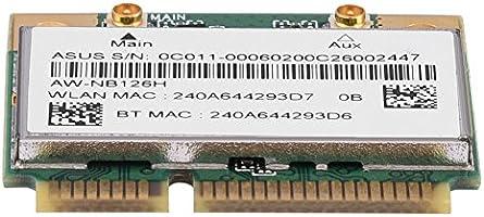 Compatible con Bluetooth 4.0//3.0//2.1//2.0 para DELL//ASUS//Toshiba//BenQ//Hasee etc. 2.4 Bluetooth WiFi 2 en 1 Tarjeta inal/ámbrica PCI-E