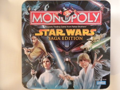 Star Wars Saga Edition Monopoly Limited Edition Tin by Pa...