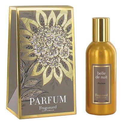 BELLE DE NUIT perfume (60ml) gilded alu natural spray by FRAGONARD 100% authentic original from PARIS FRANCE (Fragonard Nuit Belle De)