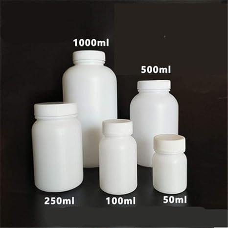 Amazon.com: DHmart Botella de plástico con tapa interior ...