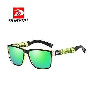 9e6ec46192 DUBERY Sunglasses Men s Polarized Sunglasses Outdoor Driving Men Women  Sport Frame Fishing Hunting Boating Glasses New