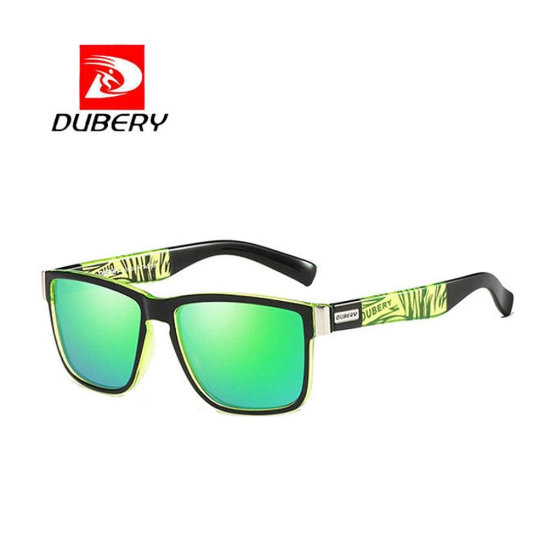 3ab47c7912 DUBERY Sunglasses Men s Polarized Sunglasses Outdoor Driving Men Women  Sport Frame Fishing Hunting Boating Glasses New