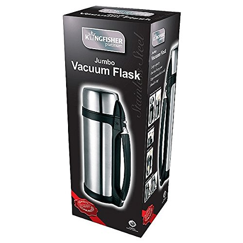 Kingfisher Bouteille thermos en acier inoxydable 1,5 l