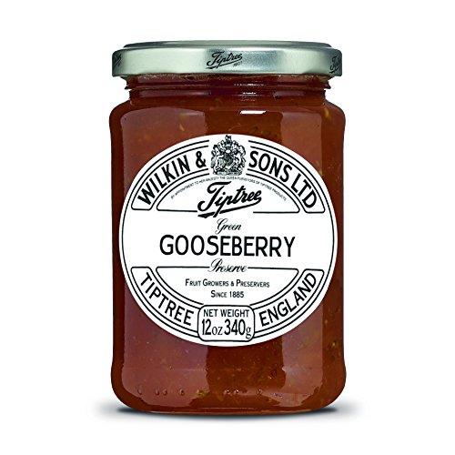 - Tiptree Green Gooseberry Preserve, 12 Ounce Jar