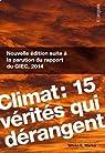 Climat : 15 vérités qui dérangent par Markó