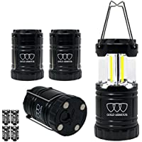 Gold Armour Brightest Camping Lantern (EMITS 350 LUMENS!)...