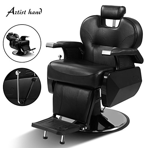 US Stock All Purpose Hydraulic Recline Barber Chair Salon Beauty Spa Shampoo Hair - Vancouver Mall Stores