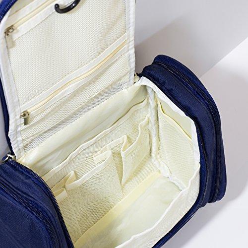 15b2f71a36 Cadtog Hanging Toiletry Bag Travel Cosmetic Kit Essentials - Import ...