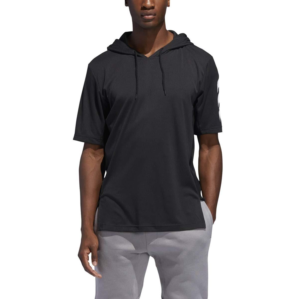 adidas SPT Hoodie - Men's Basketball 4XL Black by adidas