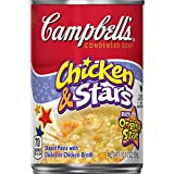 Campbell's Condensed Chicken & Stars Soup, 10.5 Ounce (Pack of 12)