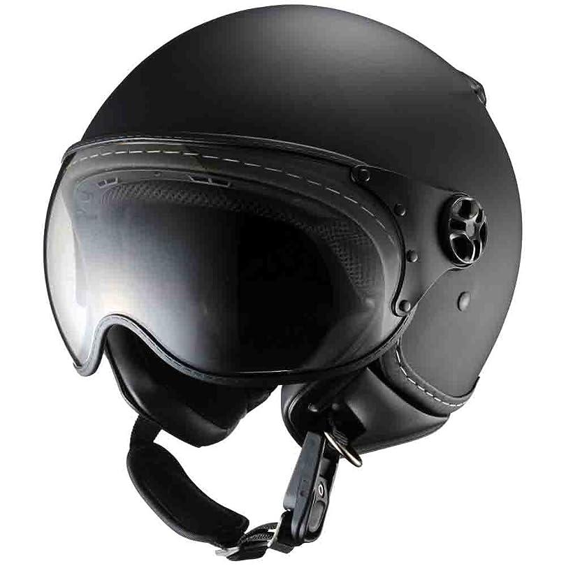 韻レザー子オージーケーカブト(OGK KABUTO)バイクヘルメット ジェット VENIRE フラットブラック (サイズ:FREE)